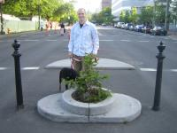 Penny and I at the worlds smallest park