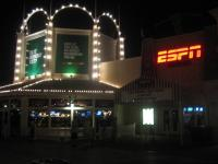 Off to ESPN club to watch Michigan try and win the Brown Jug